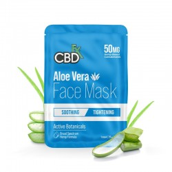 CBDfx Broad Spectrum Cbd Face Mask 50mg Aloe Vera