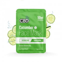 CBDfx Broad Spectrum Cbd Face Mask 50mg Cucumber